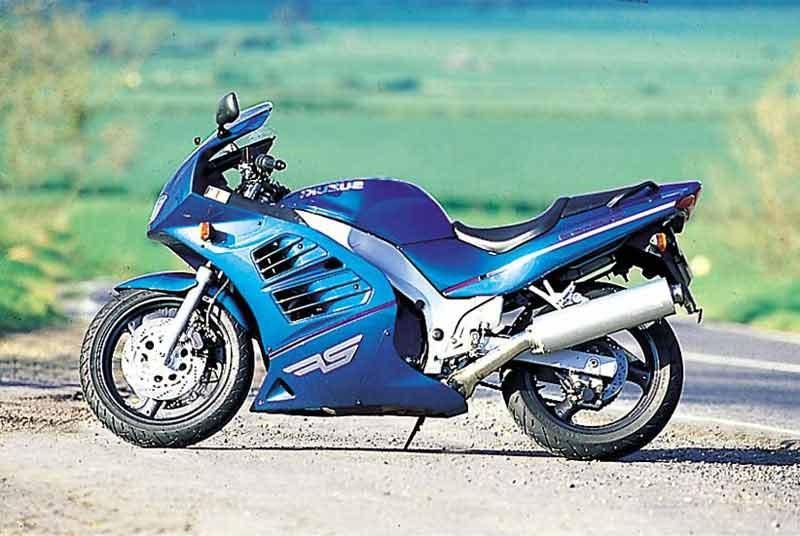 Moto del día: Suzuki RF 600