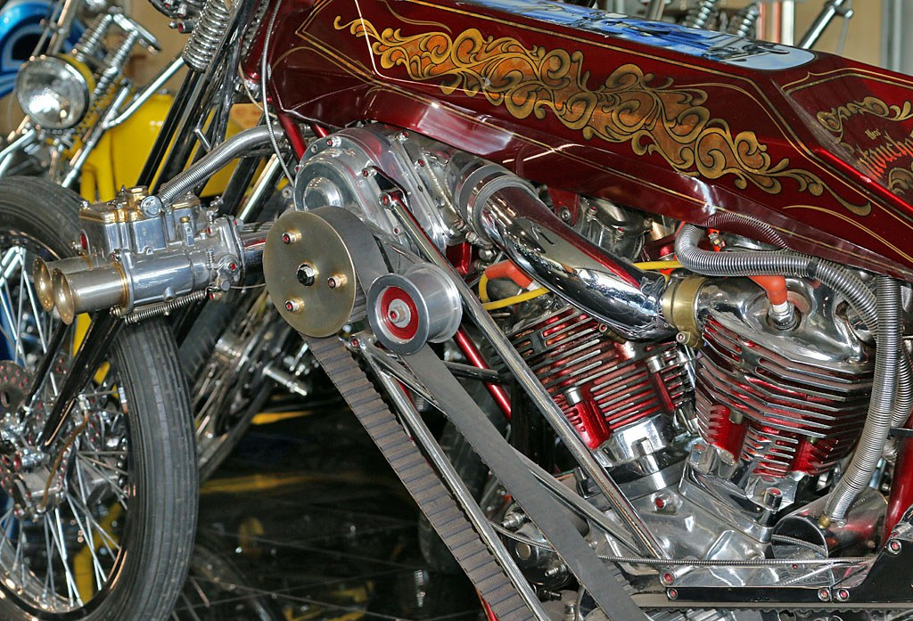 1947 Harley Davidson Knucklehead Arlen Ness 2