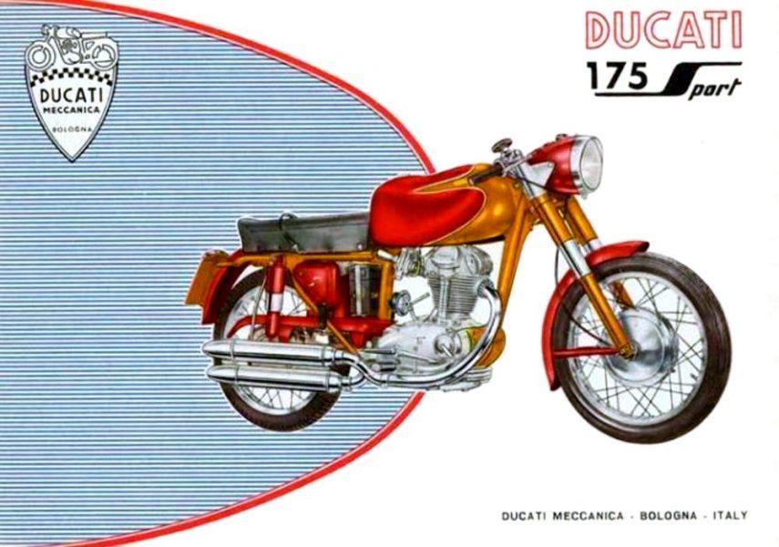 Moto del día: Ducati 175