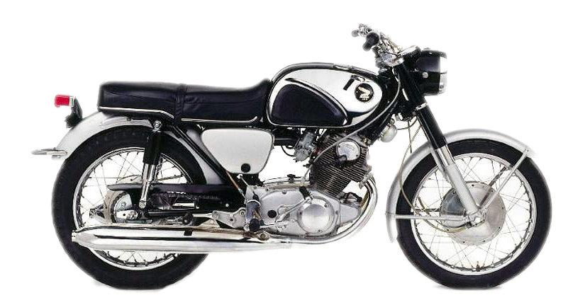 Moto del día: Honda CB 77
