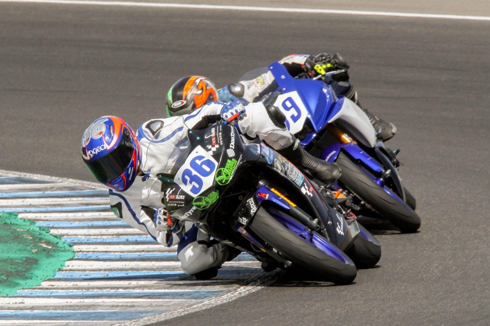 Marcos Garrido fallece en el Circuito de Jerez – Ángel Nieto