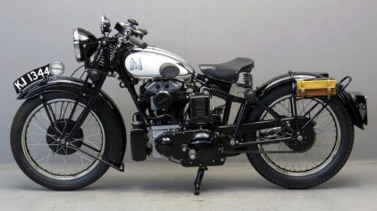 Matchless Silver Hawk 1931 2