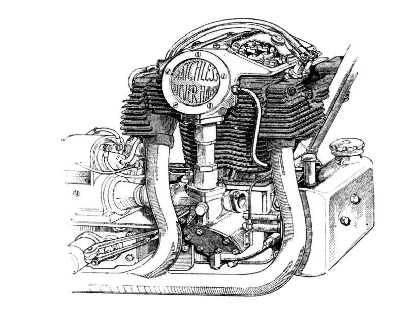 Matchless Silver Hawk 1934 Catalogo