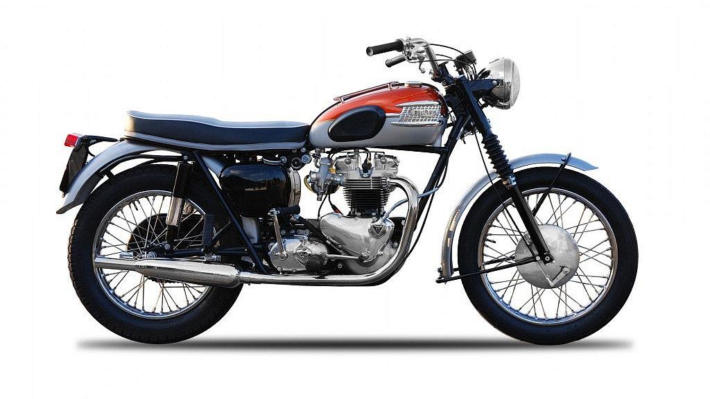 Triumph Bonneville 1962