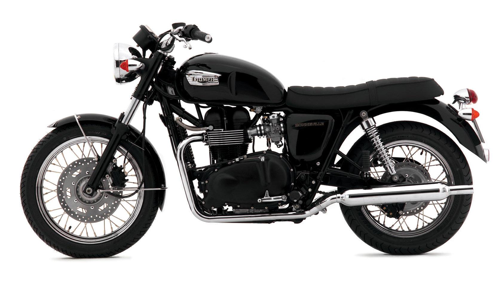 Triumph Bonneville Black 2000