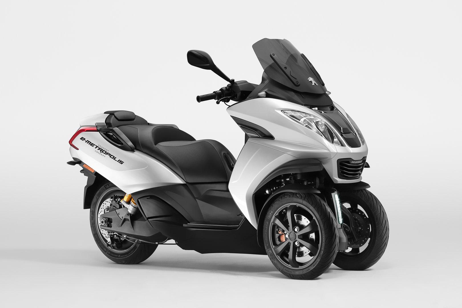 Peugeot E-Metropolis concept, aún más apto para la jungla urbana