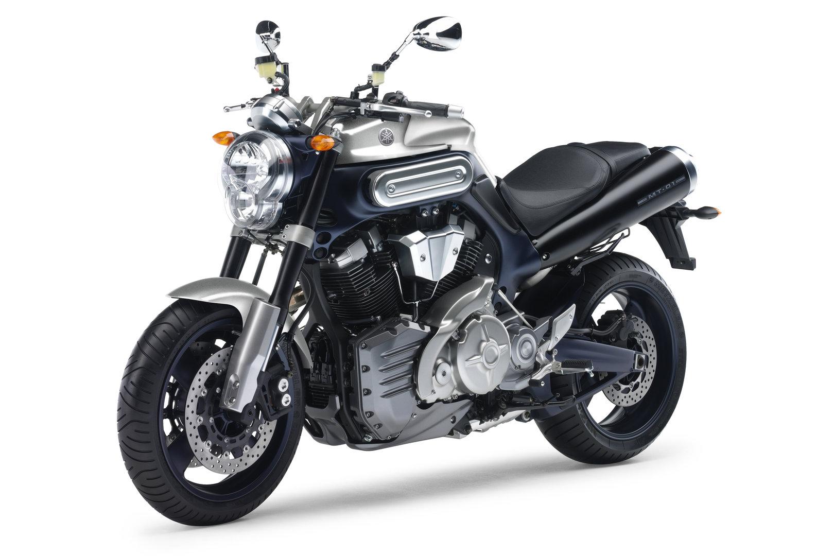 Yamaha MT 01 2005 Estudio
