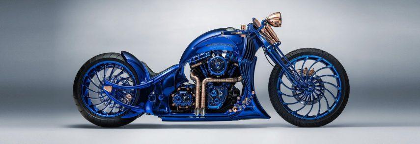 Moto del día: Harley-Davidson Bucherer Blue Edition