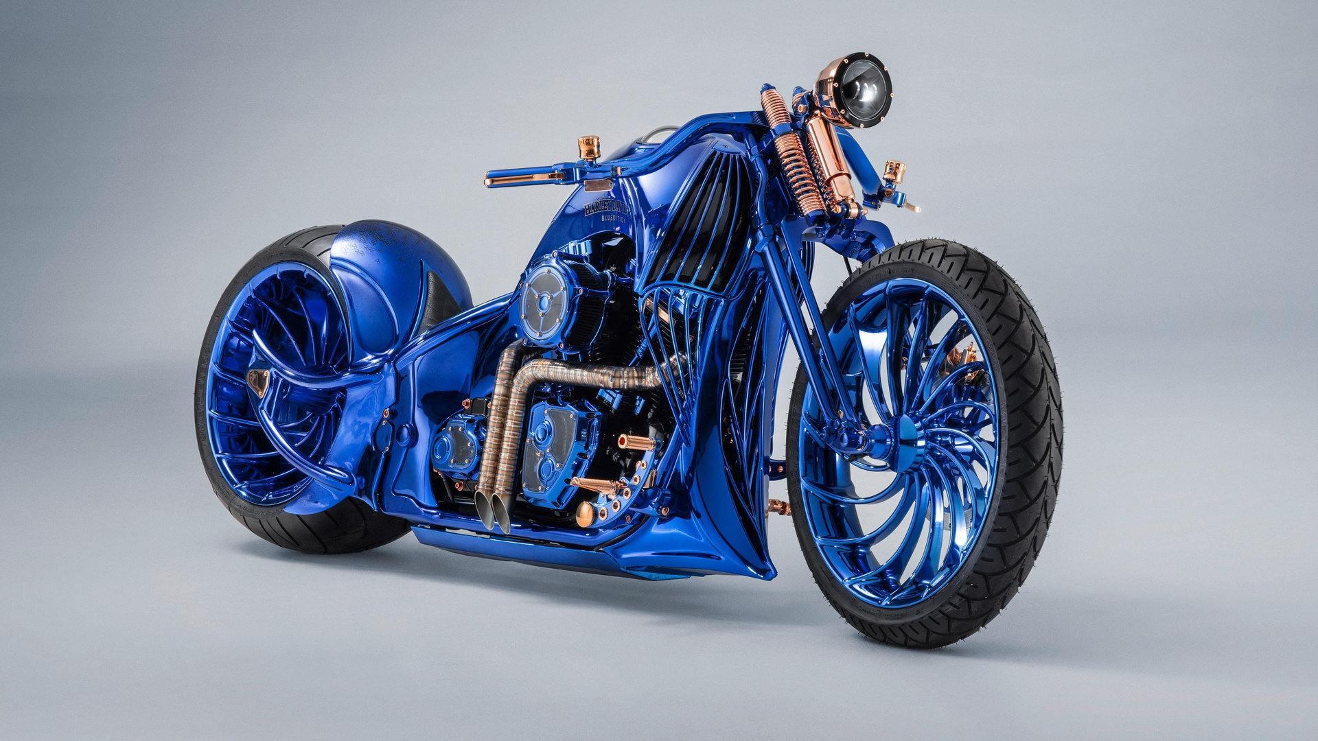 Harley Davidson Bucherer Blue Edition 2