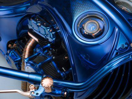 Harley Davidson Bucherer Blue Edition 3