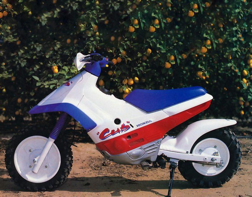 Moto del día: Honda Cub EZ90