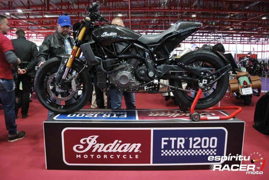Indian FTR 1200 MotoMadrid 1