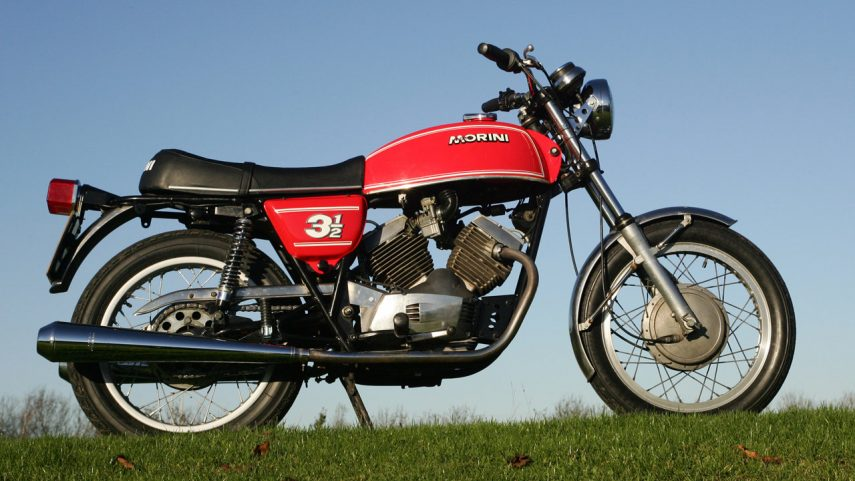 Moto del día: Moto Morini 3 ½