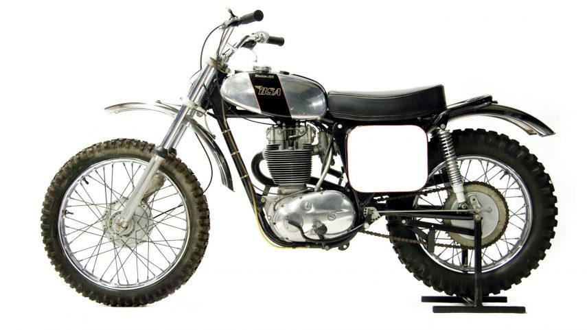 Moto del día: BSA B50 MX