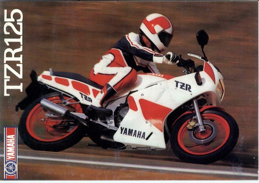 Moto del día: Yamaha TZR 125 (3FN)