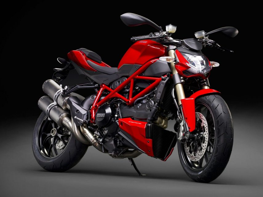 Moto del día: Ducati Streetfighter 848