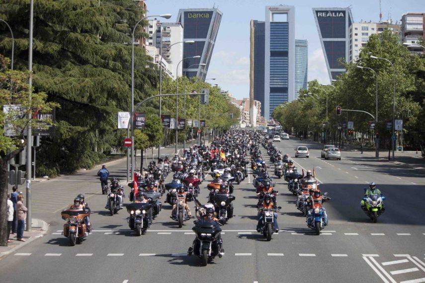 Este fin de semana Harley-Davidson tomará las calles de Madrid