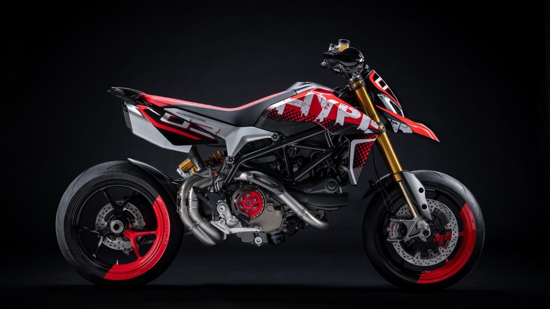 Ducati sorprende con la Ducati Hypermotard 950 Concept