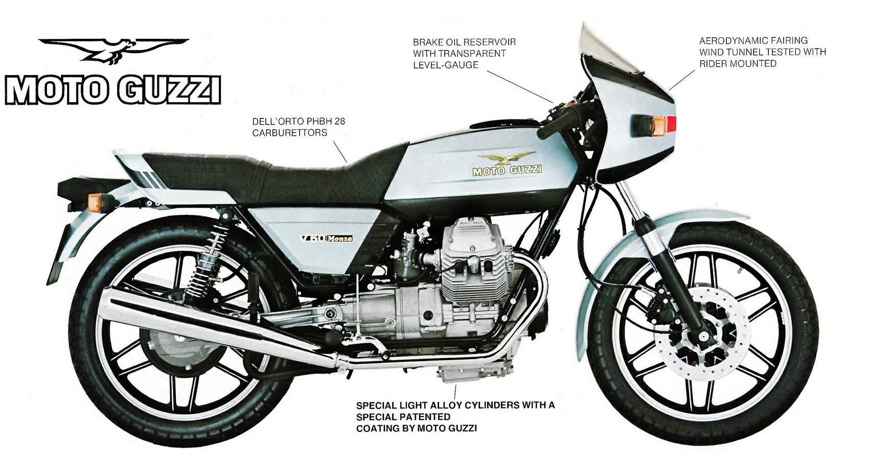 Moto Guzzi V50 Monza 1