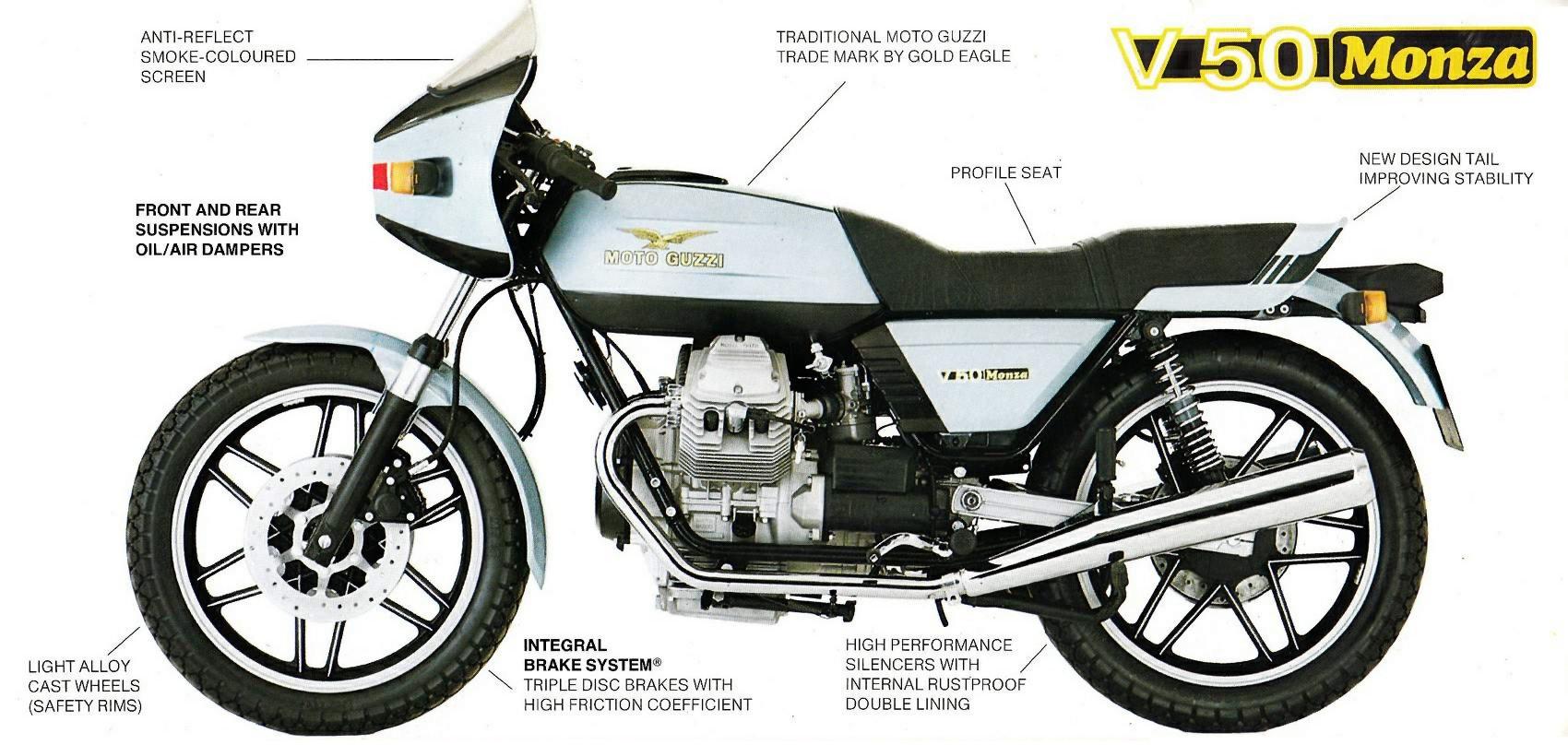 Moto Guzzi V50 Monza 2
