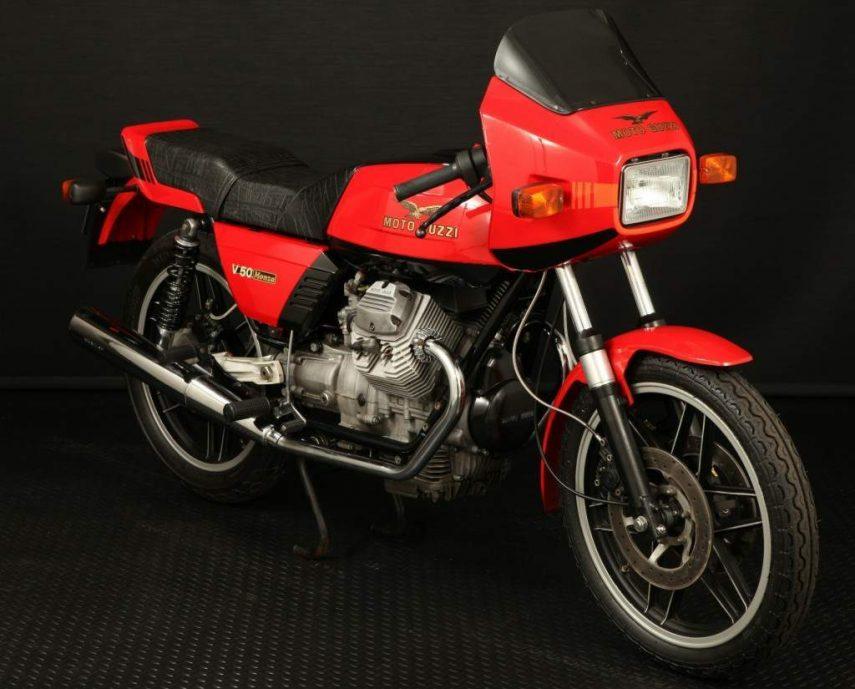Moto del día: Moto Guzzi V50 Monza