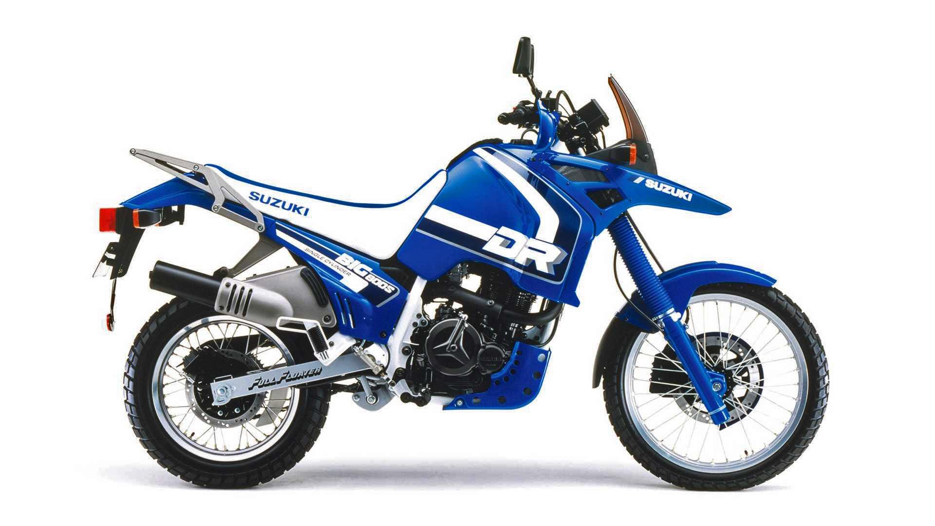 Moto del día: Suzuki DR 800S Big
