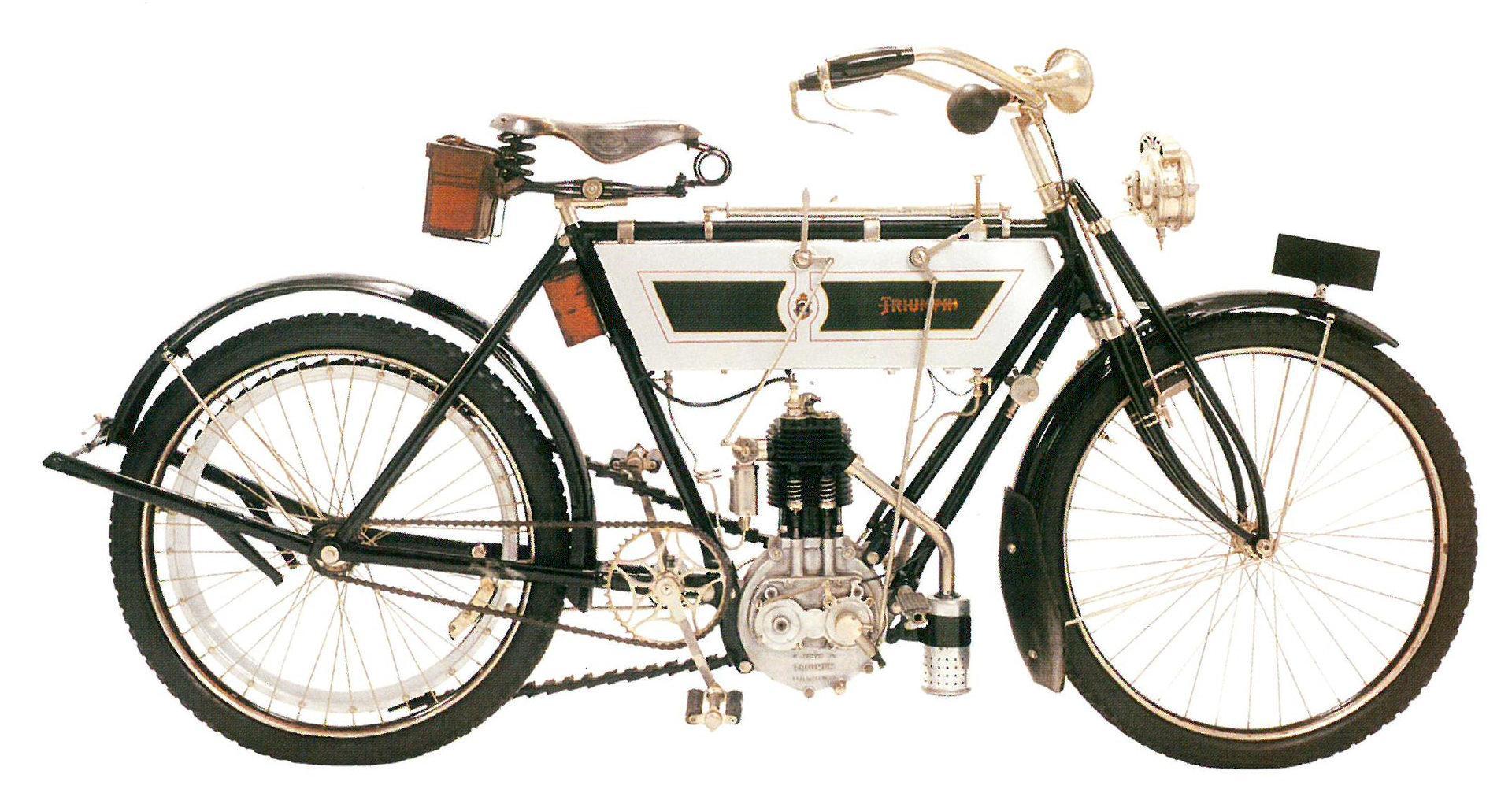 Moto del día: Triumph 3 HP