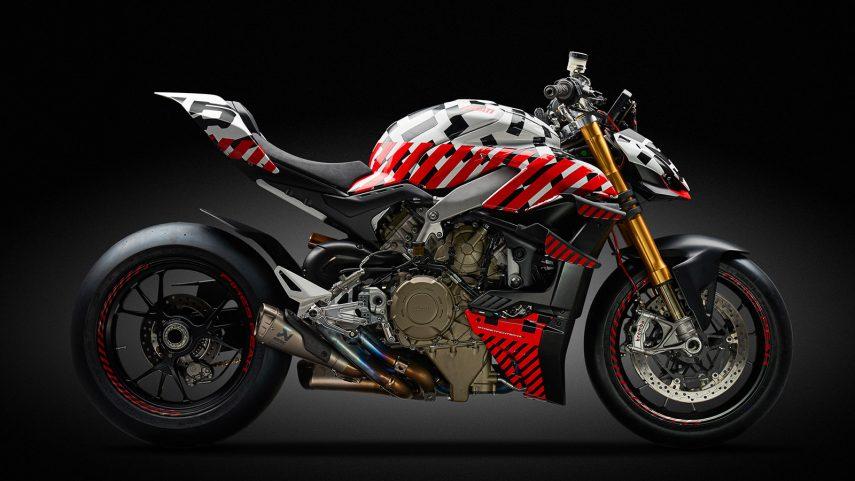 Desvelada la nueva Ducati Streetfighter V4 para Pikes Peak