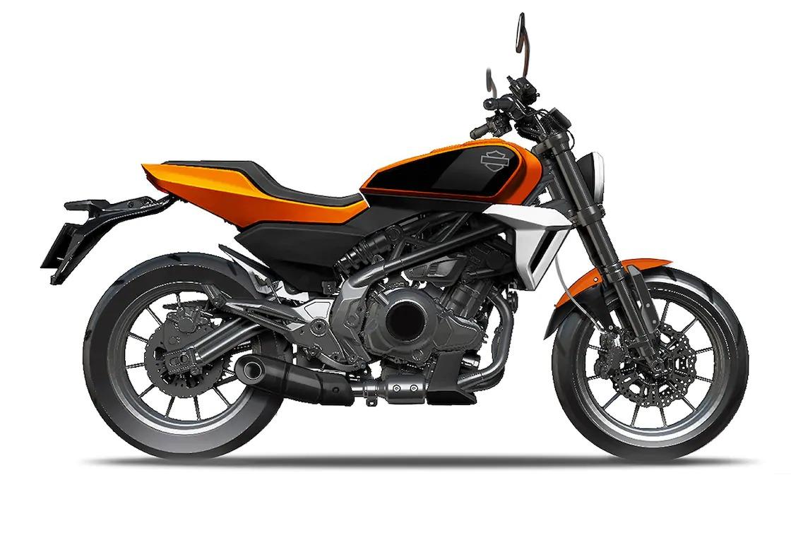 La nueva Harley-Davidson 338 R china, cazada