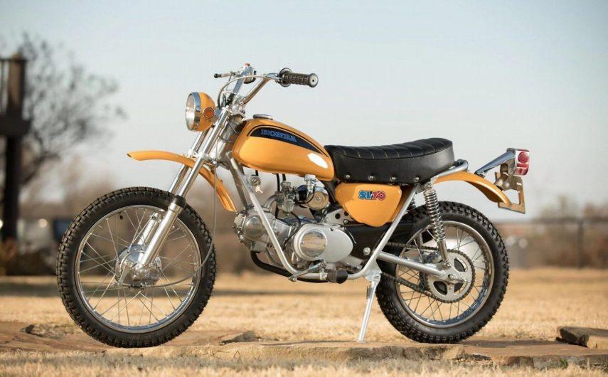 Moto del día: Honda SL70