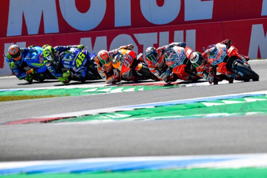 Horarios para el Gran Premio de los Países Bajos de MotoGP 2019