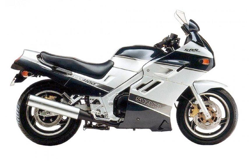 Moto del día: Suzuki GSX 1100F