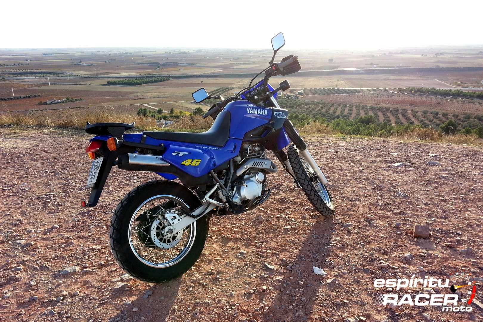 Moto del día: Yamaha XT 600 E