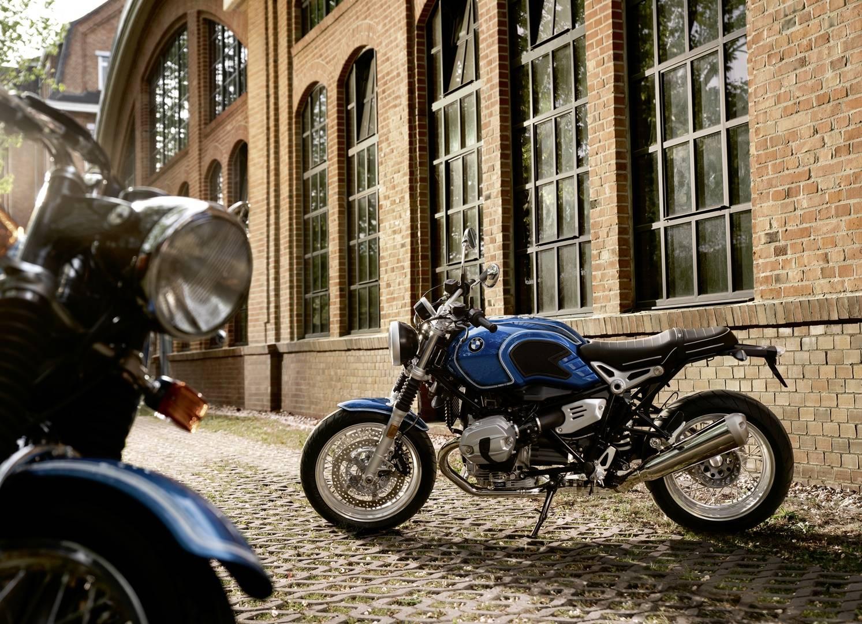 La BMW R nineT /5 es un bonito homenaje al medio siglo de historia de las series /5