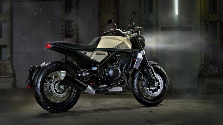 Moto del día: Brixton BX 500 Concept