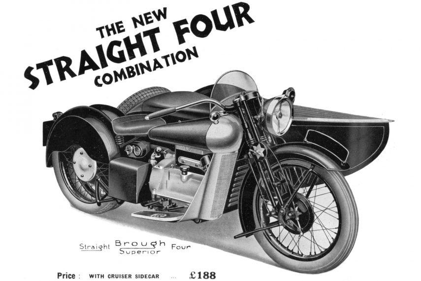 Moto del día: Brough Superior Austin Four/BS4