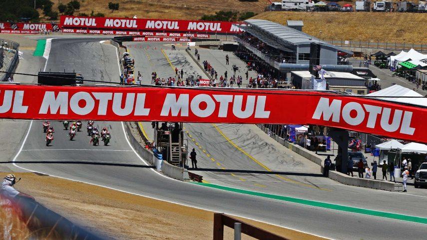 Horarios para la ronda de Superbikes en Laguna Seca 2019