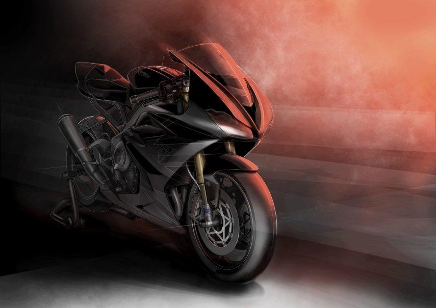 Triumph Daytona Moto2 765 Limited Edition: una Moto2 con luces y matrícula