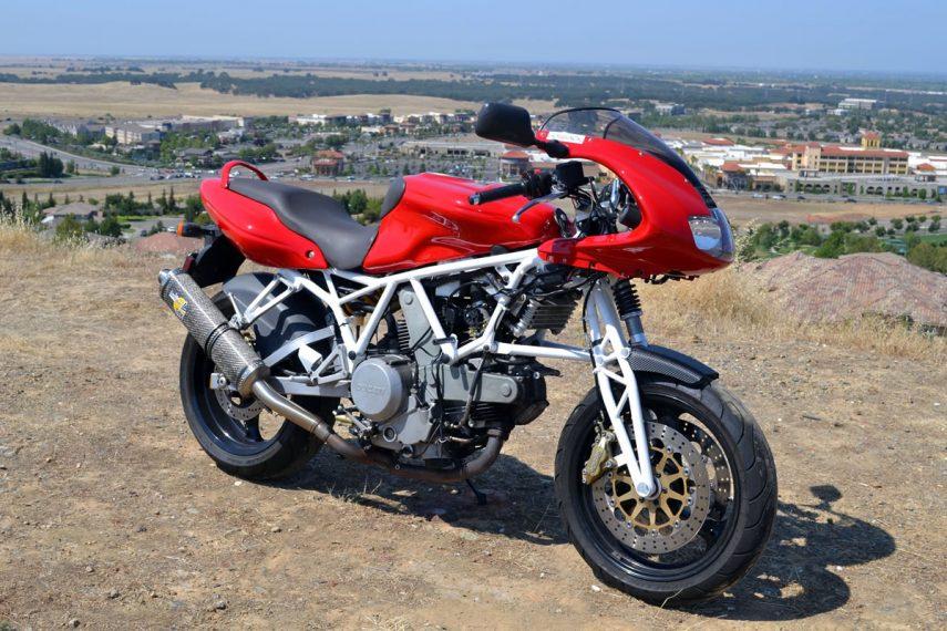 Moto del día: Ducati 800SS Hossack
