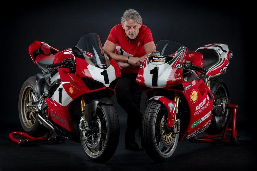 Ducati Panigale V4 25° Anniversario 916: la moto de Carl Fogarty en el siglo XXI