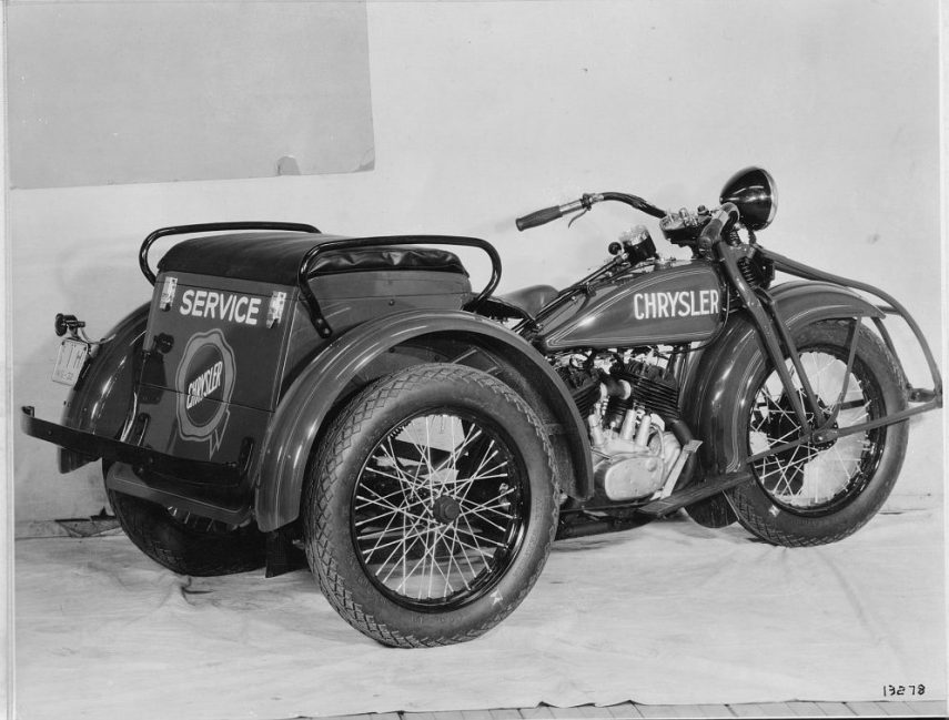 Moto del día: Harley-Davidson Servi-Car