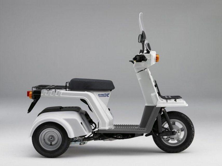 Moto del día: Honda Gyro