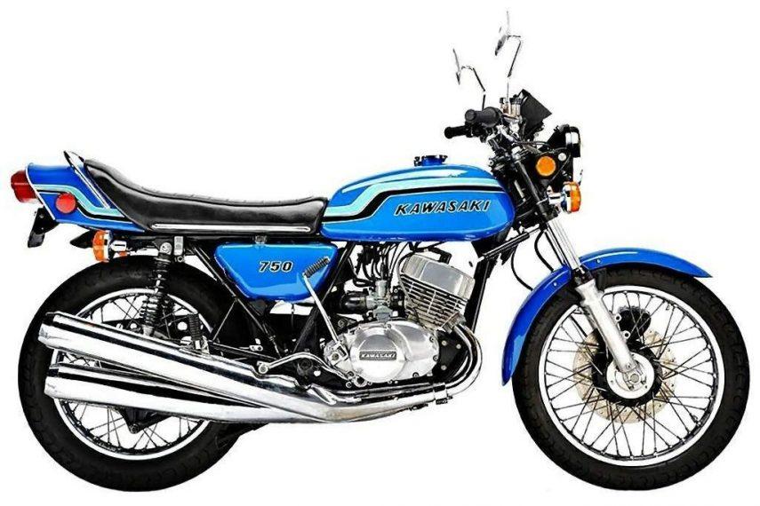 Moto del día: Kawasaki H2 750 Mach IV