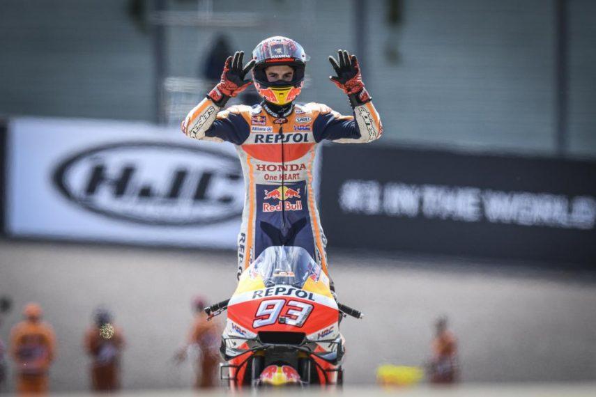 Marc Márquez consigue su décimo triunfo consecutivo en el Gran Premio de Alemania
