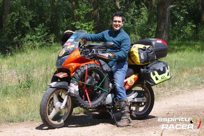 Pedro se va al Mongol Rally