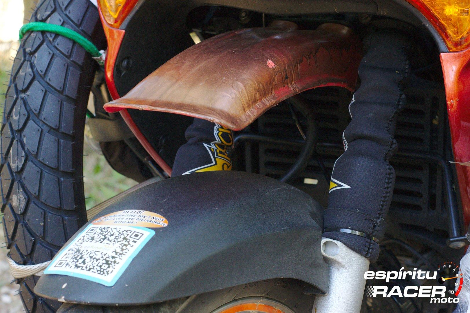 Pedro a Mongolia espirituRACER moto 24