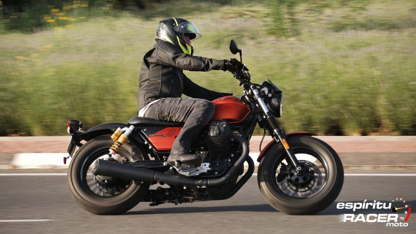Prueba: Moto Guzzi V9 Bobber Sport