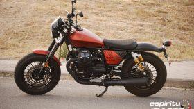 Prueba Moto Guzzi V9 Bobber Sport 09