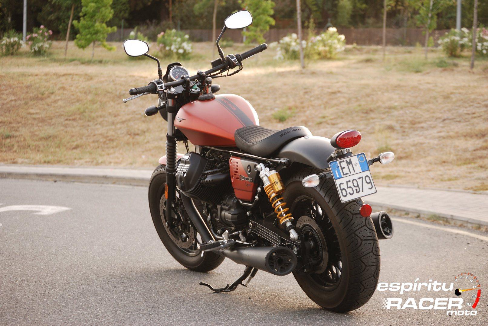 Prueba Moto Guzzi V9 Bobber Sport 10