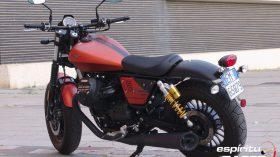 Prueba Moto Guzzi V9 Bobber Sport 30